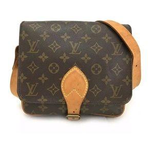 Louis Vuitton Cartouchiere MM Crossbody Purse